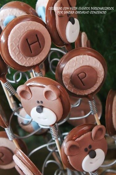 17 F | Pirulitos de chocolates personalisados