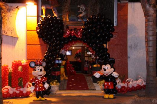IMG_7779 | Mickey e Minie - Fachada orelha por Baloes Batistella